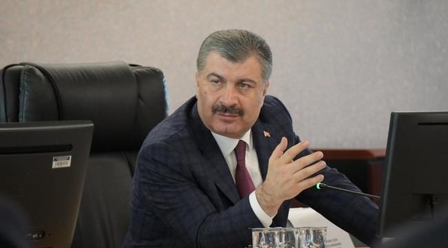 Sağlık Bakanı yeni vaka sayısını açıkladı