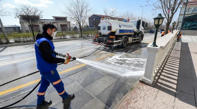 Altındağ'da mahalleler her gün temizleniyor