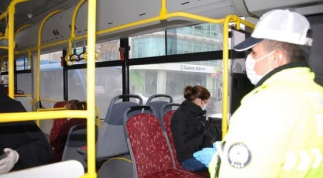 Başkent'te toplu taşıt araçlarına maskesiz binilmeyecek