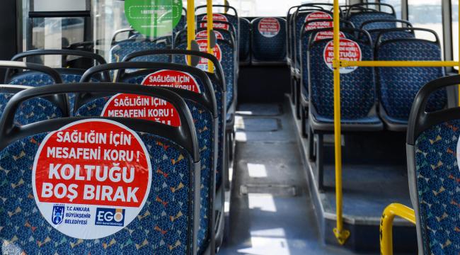 EGO otobüslerinde