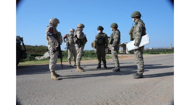MSB, 3'üncü Türk-Rus Birleşik Kara Devriyesi'nin gerçekleştirildiğini açıkladı