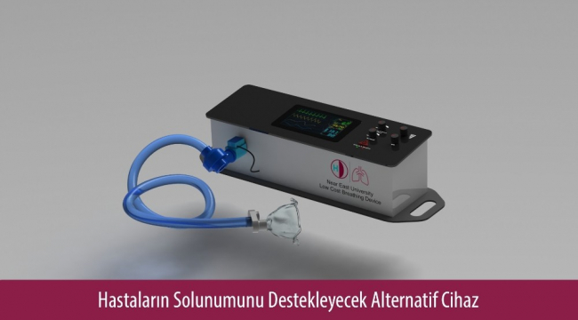 YDU alternatif solunum cihazı üretti
