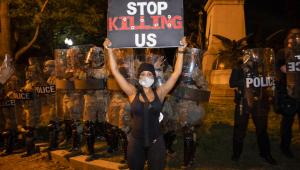 Washington'da protestolarda gerilim sürüyor