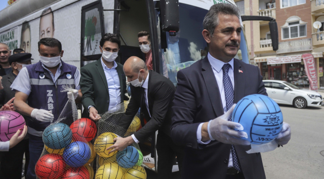 Ankara'da çocuklara çifte bayram