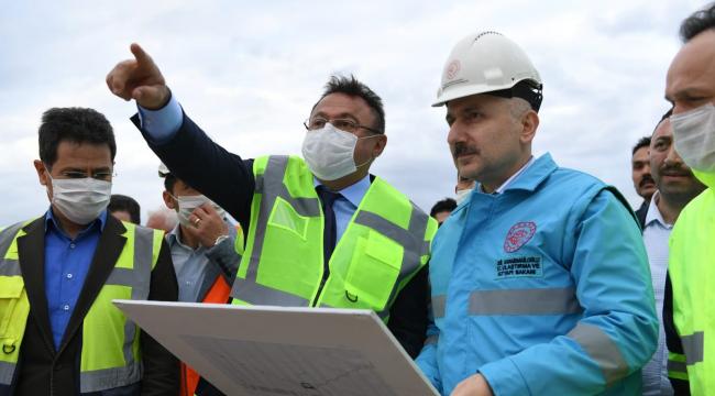 Ankara-Sivas YHT hattının 2020 yılında hizmete alınması planlanıyor