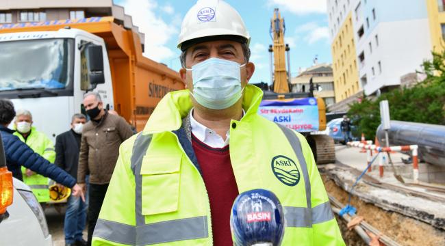 ASKİ asbestli boruların değişimi için ihaleye çıkıyor