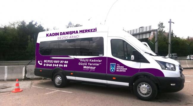 """Başkent'te kadın sağlığı için """"gezici araç"""" hizmeti"""