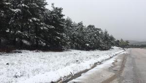 Başkent'te kar şoku