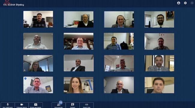 HAVELSAN'ın yerli video konferans uygulaması 'Diyalog' hazır