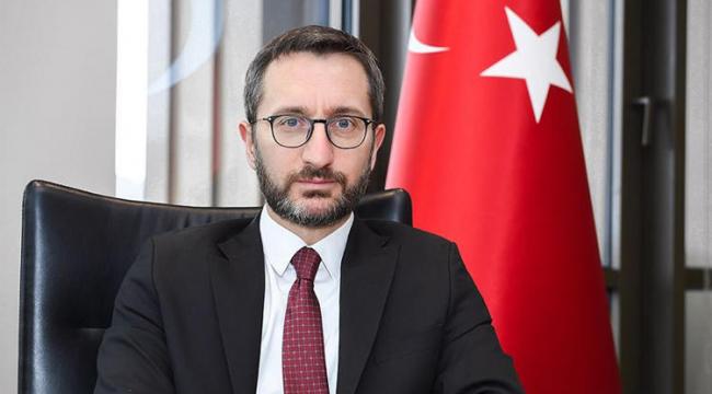 """İletişim Başkanı Altun: """"Muhalefet Türkiye için sevinmeyi öğrenmelidir"""""""