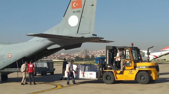 Kuzey Makedonya Cumhuriyeti ve Arnavutluk'a tıbbi malzeme yardımı