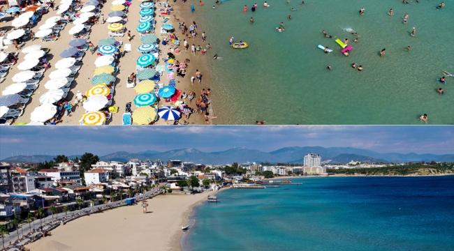 Turizm merkezlerinin plaj ve sahilleri sessiz kaldı