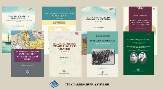 Türk Tarih Kurumu'ndan 8 yeni kitap