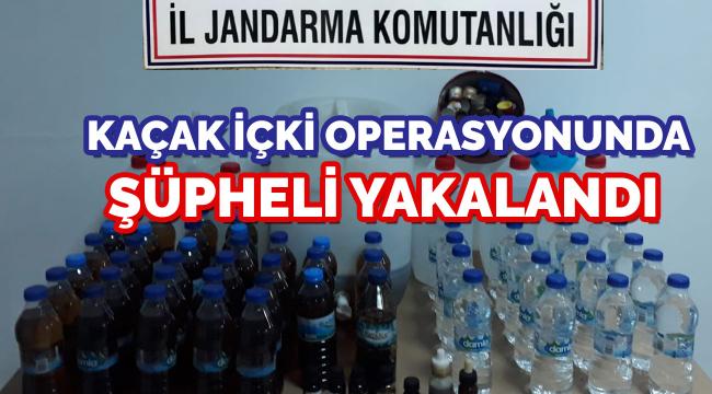 Ankara'da kaçak içki sattığı iddia edilen şüpheli yakalandı