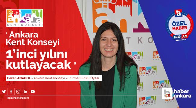Ankara Kent Konseyi 1'inci yılını kutlayacak