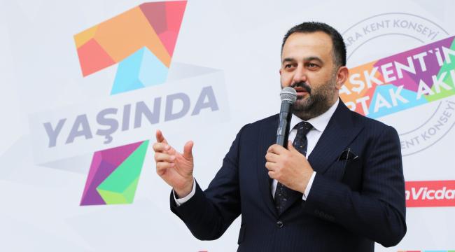 ASTOP'tan Ankara Kent Konseyi Başkanı Yılmaz'a ödül