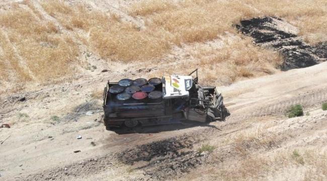 Barış Pınarı bölgesinde bombalı araç vurularak durduruldu