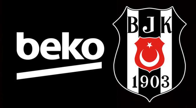 Beşiktaş'ın yeni ana sponsoru Beko oldu