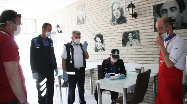 Beypazarı Belediyesinden iş yerlerine denetim