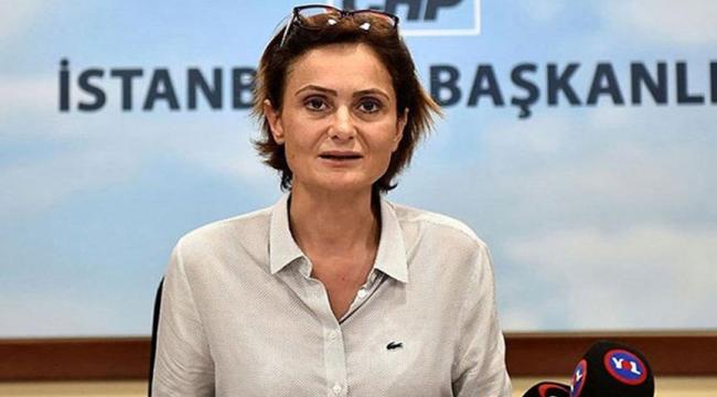 Canan Kaftancıoğlu'nun hapis cezası onandı