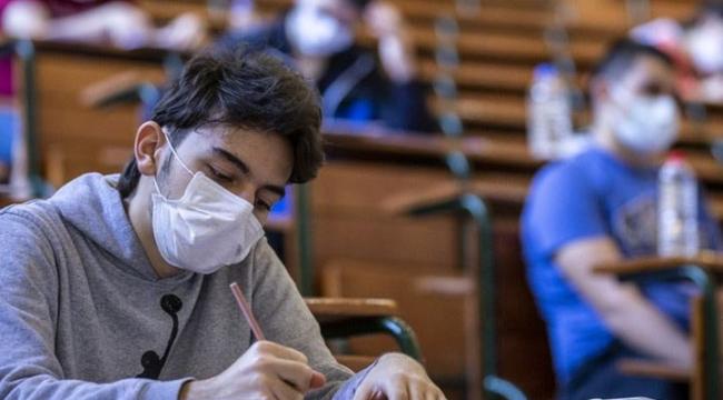 LGS'ye girecek öğrenciler sınav esnasında maskelerini çıkarabilecek