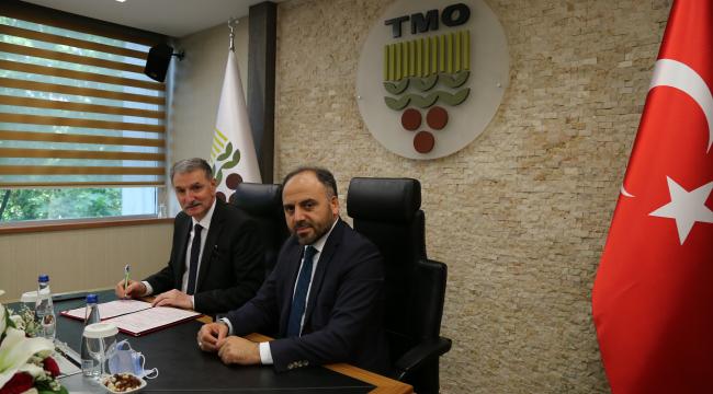 TMO ile TÜRKŞEKER'den iş birliği