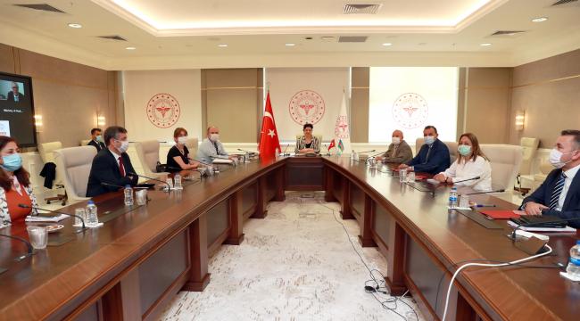 Türkiye ve Azerbaycan arasında Covid-19'a ilişkin tecrübe paylaşımı