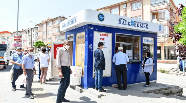 45 Halk Ekmek Satış Büfesi yeni sahiplerine teslim edildi