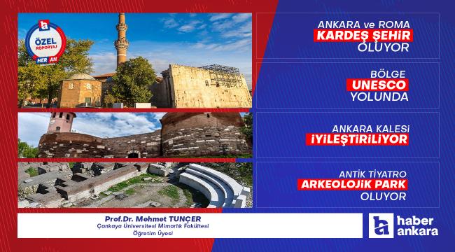 Ankara ile Roma kardeş şehir oluyor