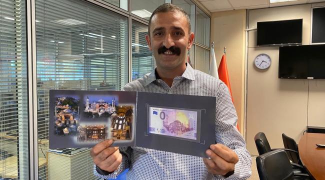 Ayasofya, hatıra amaçlı Euro'da
