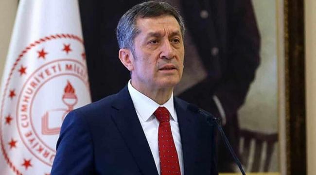 Bakan Ziya Selçuk: Şartlar iyi olursa okulları açacağız