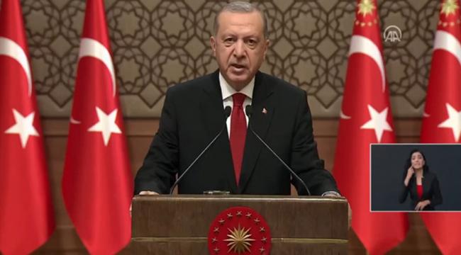 """Cumhurbaşkanı Erdoğan: """"15 Temmuz, hiçbir şüpheye yer bırakmayacak şekilde ülkemizi işgal girişimiydi"""""""