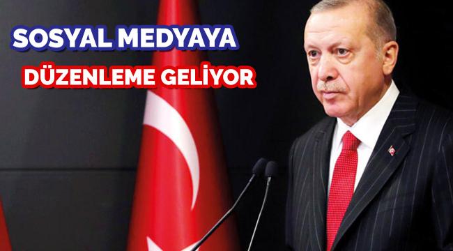 Cumhurbaşkanı Erdoğan açıkladı: Sosyal medya düzenlemesi geliyor