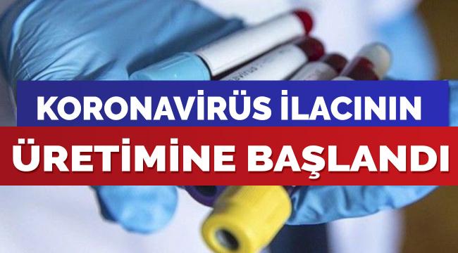 Erbil, korona virüs ilacı üretimine başladı