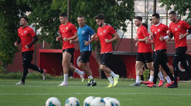 Gençlerbirliği'nde Sivasspor hazırlıkları başladı