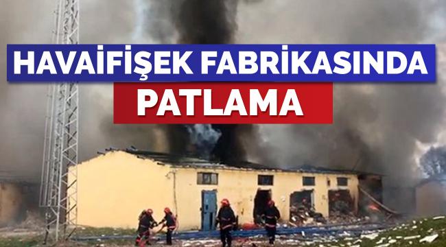 Havaifişek fabrikasında patlama