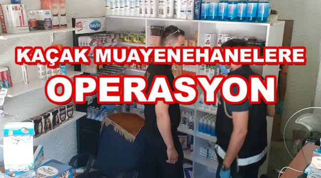 Kaçakçılık Suçlarıyla Mücadele Şube Müdürlüğü'den Ankara'da dev operasyon