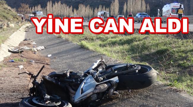 Motosikletiyle yoldan çıkan sürücü hayatını kaybetti