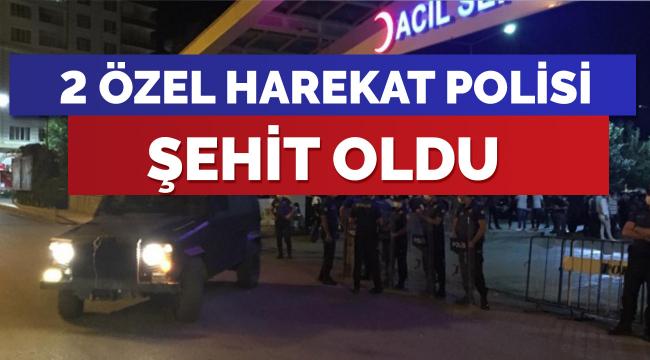 Siirt'te 2 Özel Harekat Polisi  şehit oldu