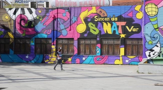 Sincan Belediyesi'nden amatör sanatçılara destek