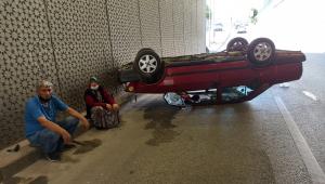 Sincan'da trafik kazası: 1 yaralı
