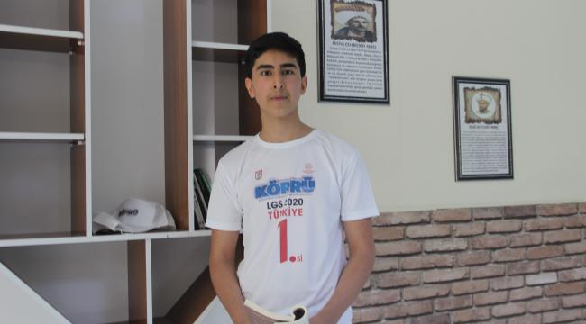Türkiye birincisi oldu, Sivas'a gurur yaşattı