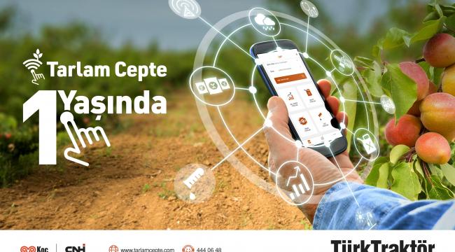 TürkTraktör'ün 'Tarlam Cepte' akıllı tarım uygulamasından 20 bin çiftçi yararlanıyor