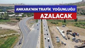 Ankara'da trafik yoğunluğunu azaltacak projeler hızla ilerliyor