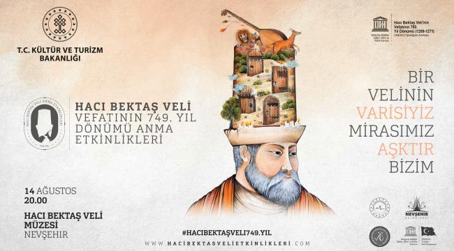 Hacı Bektaş Veli Türbe ve Müzesinde anma etkinliği