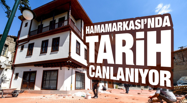Hamamarkası'nda tarih canlanıyor
