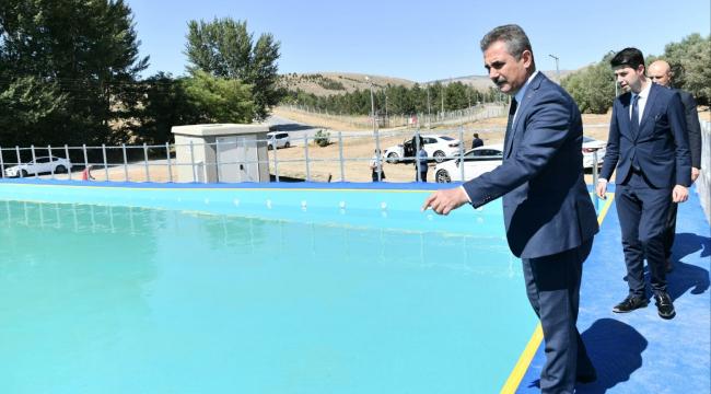 Mamak Belediyesi'nden portatif havuz