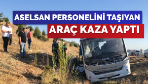 Otobüs Aselsan personelini taşıyan minibüse çarptı: 1 ölü, 2'si ağır 8 yaralı