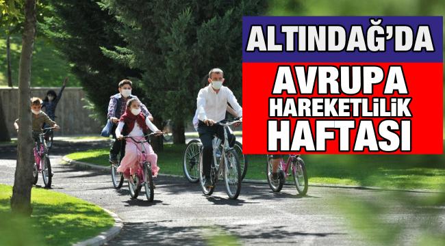 Altındağ'da 'Avrupa Hareketlilik Haftası'