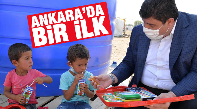 Ankara'da bir ilk: Mobil EBA Destek Noktası